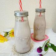 ミロ氷でアイスミルク