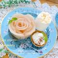簡単!自家製*桃の缶詰で作る『桃バラ』デザート by 桃咲マルクさん