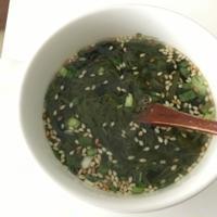 お湯を注ぐだけ!とろとろW海藻スープ