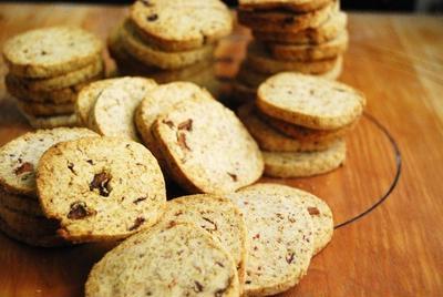 小麦粉不使用!さくさく苺おからクッキー