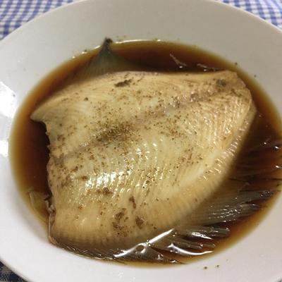 【かれい】普段の煮付けに飽きてしまった時に美味しく作りたい「山椒煮」
