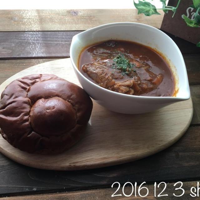 12月3日(土) 4日(日)    シチューの残りとしっとり大学芋と常備菜