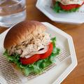 ローソン ブランパン レシピ公開!!『ごま味噌チキンの和風サンド』
