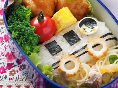 >園児の遠足に♪バスのキャラ弁 by 高羽ゆきさん