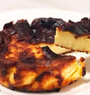 材料費たったの210円!究極の節約『バスク風チーズケーキ』の作り方