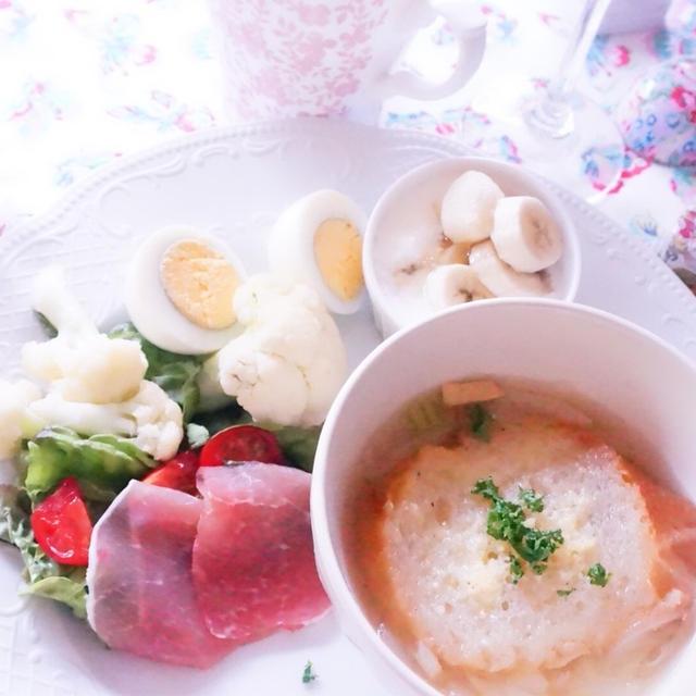 【レシピ】簡単!オニオングラタンスープ風 心を整える食事のススメ