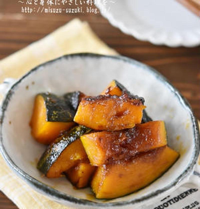 甘辛味がごはんにぴったり!「かぼちゃの照り焼き」おすすめレシピ