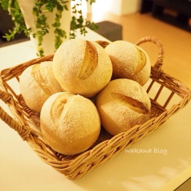 自家製レーズン酵母でプチパン