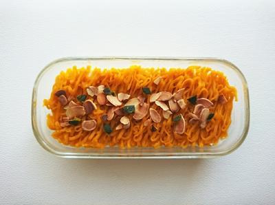 【Recipeとコツ】かぼちゃのモンブランクリーム