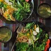 冬と春の野菜をとことん楽しむワンプレート。