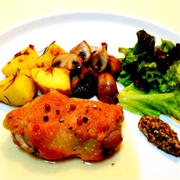 【簡単・真空調理で】鶏モモのコンフィ by taroさん
