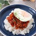 濃厚トマトのミートソース丼☆ &フーディストノートにレシピ掲載♪