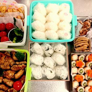 運動会のお弁当*幼稚園2018*