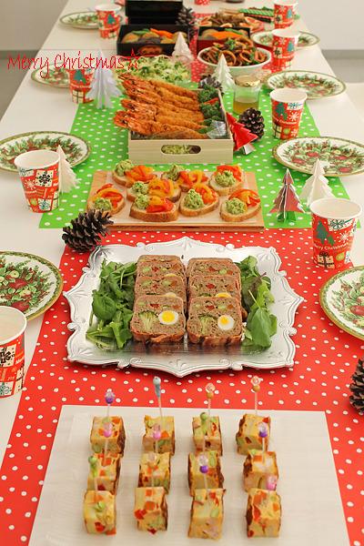 冷めてもおいしい料理でクリスマスパーティー☆