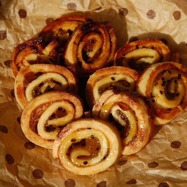 キウイジャムのうずまきクッキー