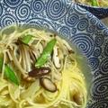 2月24日  4種の茸の スープパスタ