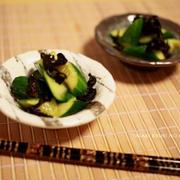たたき胡瓜の辛子和え by eomotさん