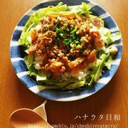 ふーみん風納豆ご飯