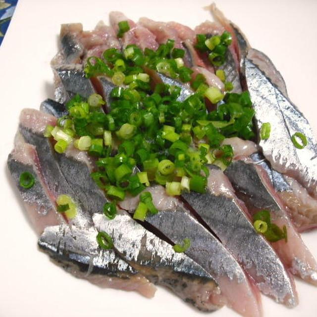 秋刀魚の刺身