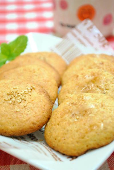 ホットケーキミックスで作る♪かつおぶしクッキー ☆