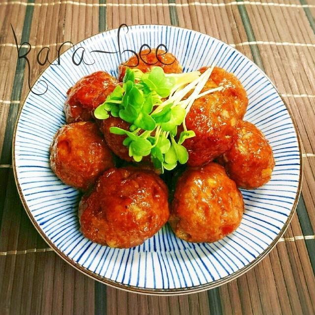 1. チーズカレー肉団子の甘辛照り焼き