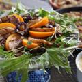 ちょっとエチゾチック♪スパイスが決め手☆柿ドレ野菜のグリル焼き