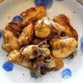 もつ焼き BBQ ~ 焼き鳥のたれ ~ 牡蠣のガーリックオリーブ油炒め