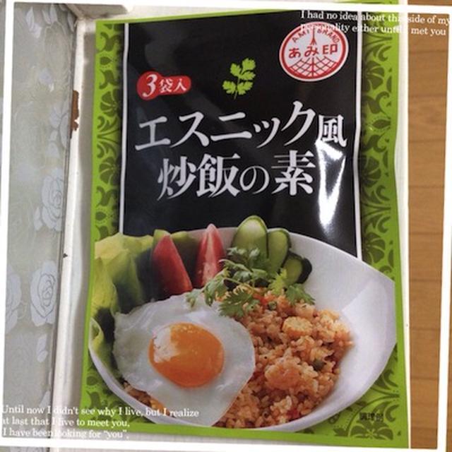 モニター~エスニック風炒飯の素~ナスのエスニック炒め