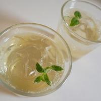 レモングラスとペパーミントのティーソーダ