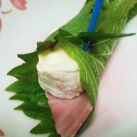 雪印メグミルク 北海道100カマンベールチーズのしそ巻~パパもよろこぶ♪チーズdeおつまみレシピ