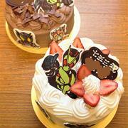 仮面ライダーゼロワン 七五三ケーキ