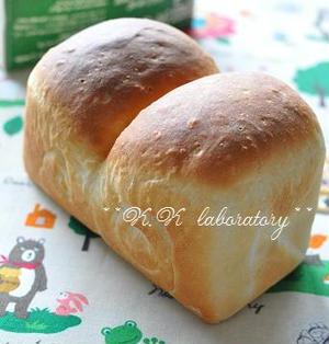 ルクエパン☆牛乳パックで山食パン(レシピ付)