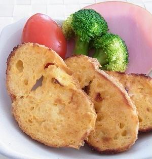 オーブントースターでヨーグルトフレンチトースト