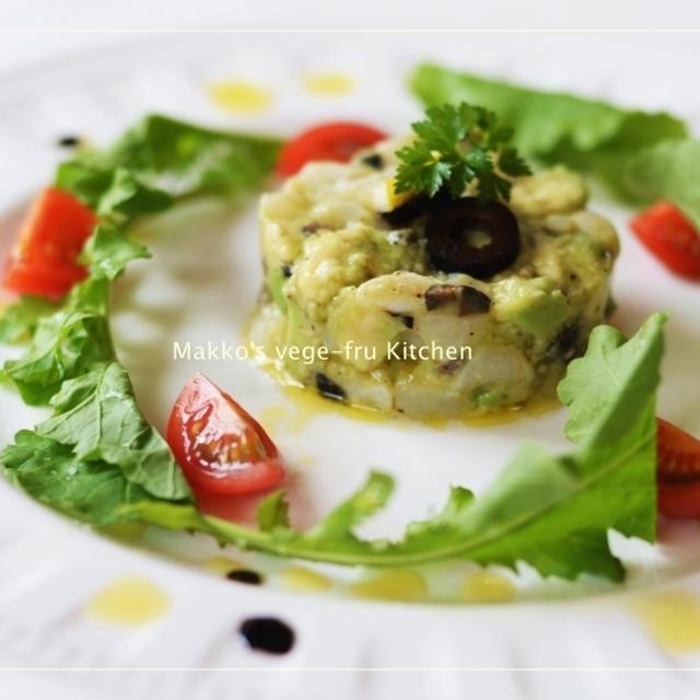 掲載☆~アボカドと帆立の前菜~ ローズメイ+レシピ
