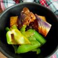 茄子とピーマンの韓国風ナムル