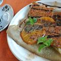 ♪そば粉のガレット~セミドライオレンジとアーモンドクランチ~