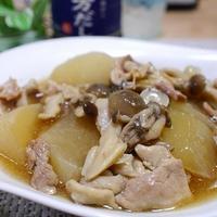 大根と豚肉のとろみ煮