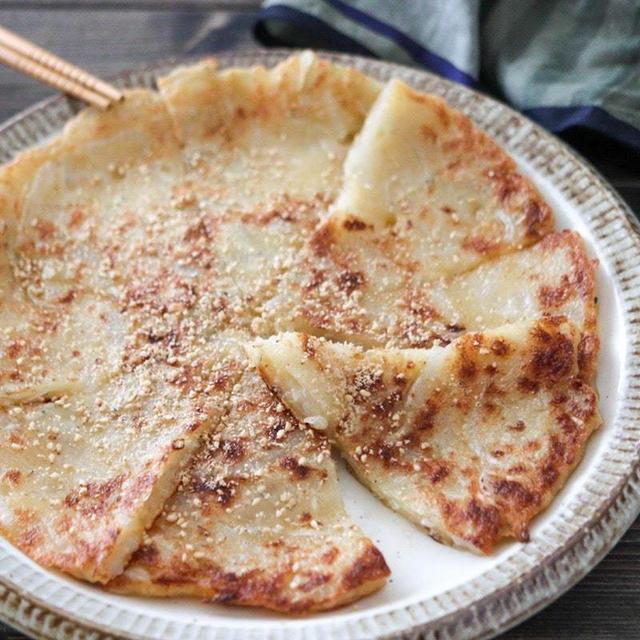 しらす豆腐チヂミレシピ♪卵なし小麦粉なし!豆腐と片栗粉で簡単