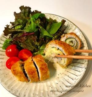 くらしのアンテナ♡と 薄切り肉もボリュームup❤︎海苔&チーズのロールカツ♡