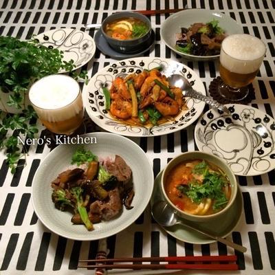 タイ料理で晩ごはん♪