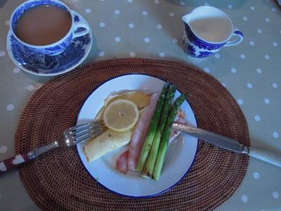 イギリスのパンケーキ♪、レモンとお砂糖で