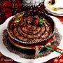 【クリスマスケーキレシピ】ホールで作る濃厚チョコのブッシュドノエル