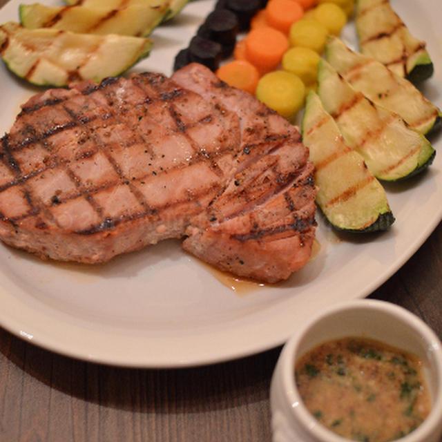 【バイエルン風まぐろのステーキ】フランスに 行くと食卓 潤って