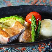 チキンと野菜のタイ風スープ煮
