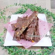 柿の種チョコバー snap dish