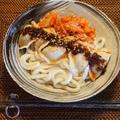 食べるラー油de水餃子とキムチのスタミナ麺!