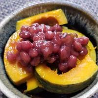 「宝酒造×レシピブログ」タカラ本みりん簡単料理レシピ -かぼちゃとあずきのみりん煮-