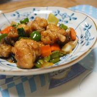 にんべん だしとスパイスの魔法 ポークステーキで 簡単中華炒め