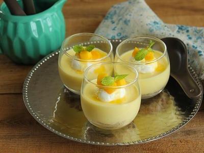 >簡単!型不要♪グラスでマンゴーレアチーズケーキ by 山本リコピンさん