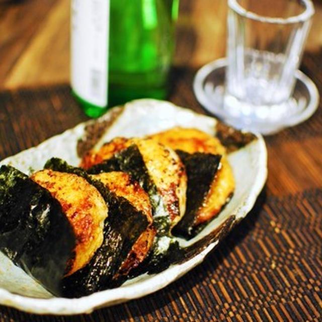 丸芋のモチモチいそべ焼き